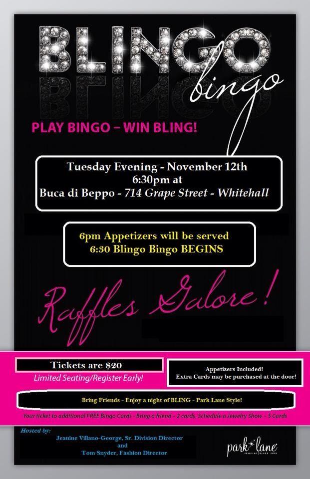 Enjoyable Blingo Bingo In November Reserve Niw Paparazzi Personalised Birthday Cards Sponlily Jamesorg