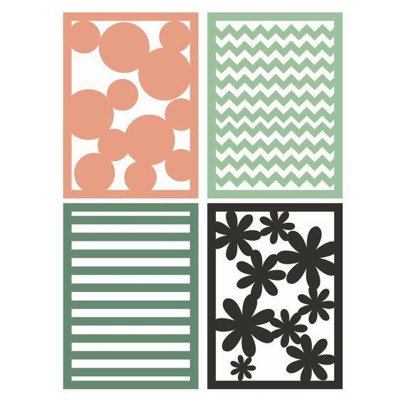 Patterned Background SVG Files Stripes by BeaOriginalStore