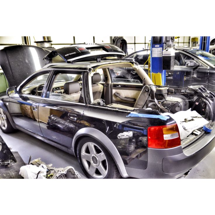Chopping her up and getting ready for some welding @c2racedevelopment.   #chopped #cut #topless #audi #allroad #vag #awd #turbo #2.7 #twinturbo #pickup #offroad #baja #service #repair #tristate #nj #clifton #mountainside #drivemembers #teamdrive #driveautoworks #daw www.driveautoworks.com