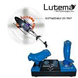 Lutema 2.4 Heligram Flight Simulator R/C Helicopter w/LED SkyText Technology - Blue - http://www.johnsbooksandhobbies.com/lutema-2-4-heligram-flight-simulator-rc-helicopter-wled-skytext-technology-blue/
