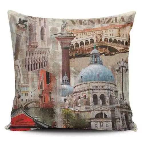 Cojin Decorativo Tayrona Store Venezia Vintage - $ 43.900
