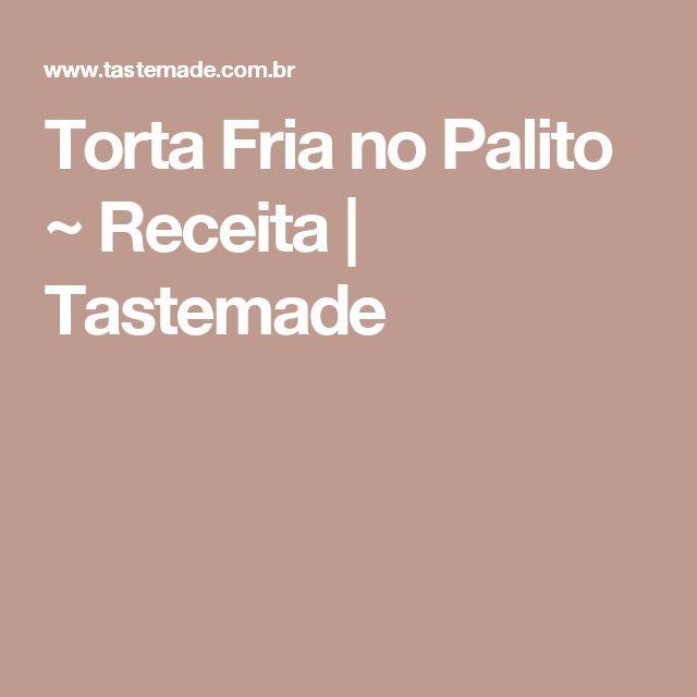 Torta Fria no Palito ~ Receita | Tastemade