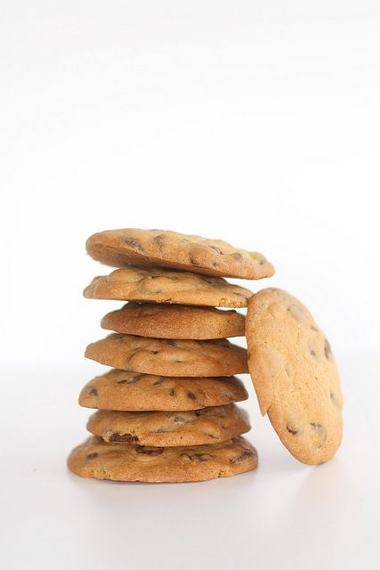 chocolate Chip koekjes by photo-copy