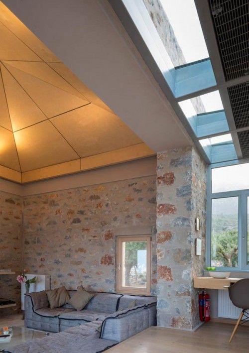 Δύο εξοχικές κατοικίες στη Μάνη - hhharchitects - The Greek Foundation