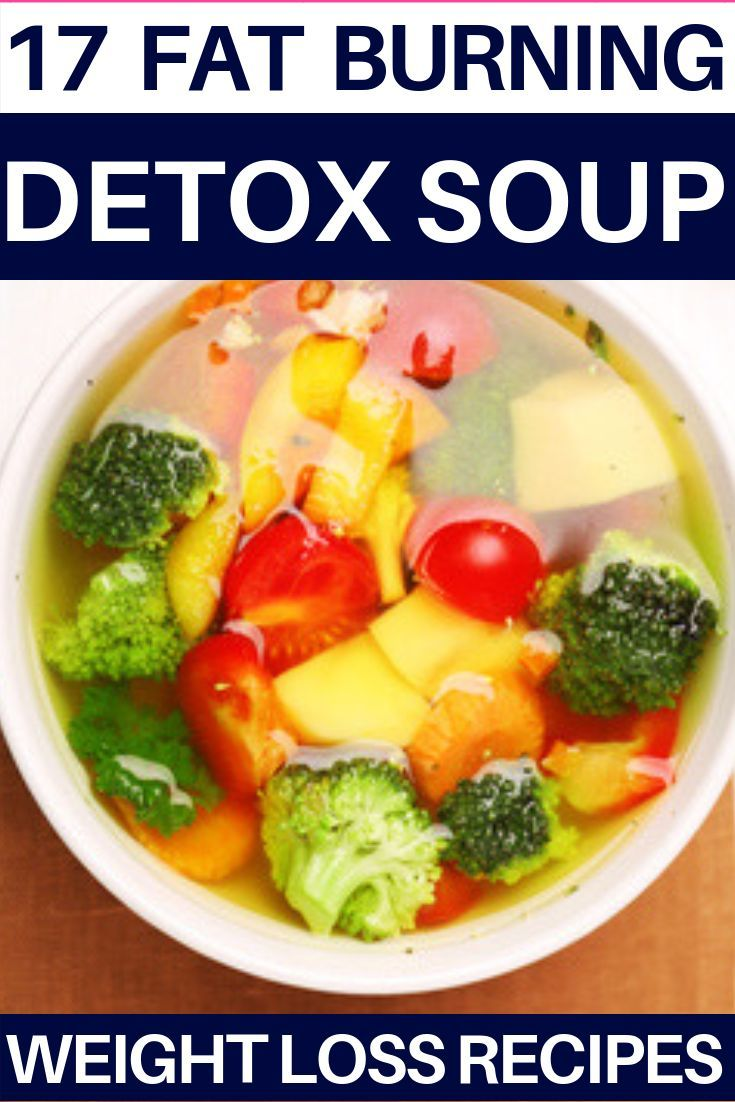 Detox Soup Recipes The best detox soup for weight loss! Perfect for cleanses, these fat flushing detox soup recipes help you lose weight, flatten your belly, and provide the perfect healthy fat flush! Whether you want to lose 10 pounds or find the best flat belly soup for your crockpot, you don't want to miss these easy clean eating detox soup recipes! #diet #detox #weightlossrecipes #cleaneating