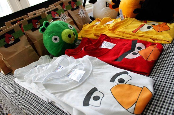 DIY Angry Birds Party Ideas | eventstocelebrate.net