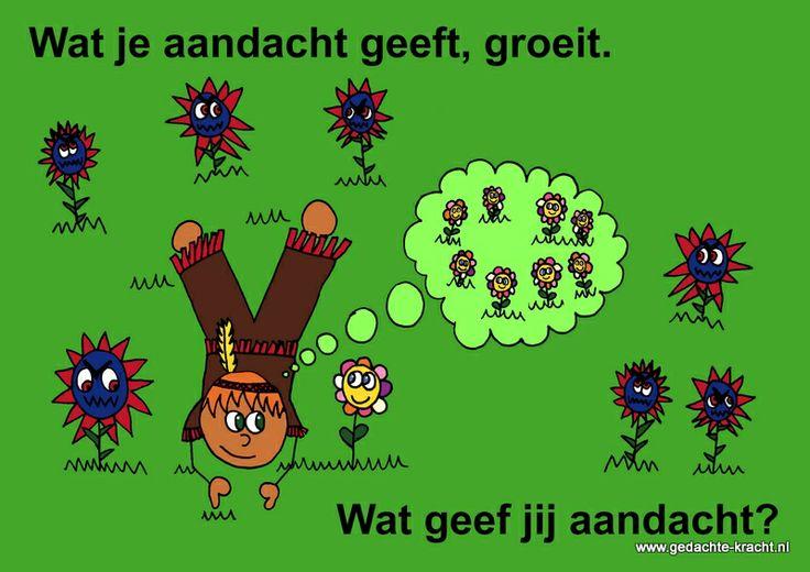 Postkaart van www.gedachte-kracht.nl