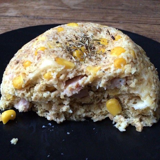 La recette du Bowlcake salé est en ligne sur mon blog! Lien dans ma bio ✌️. Belle soirée les chatons ❤️.