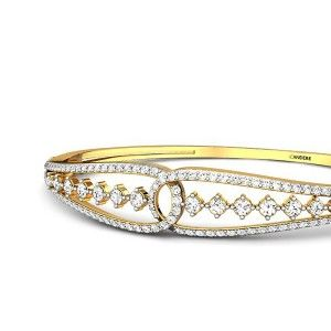 Emma Diamond Bangle