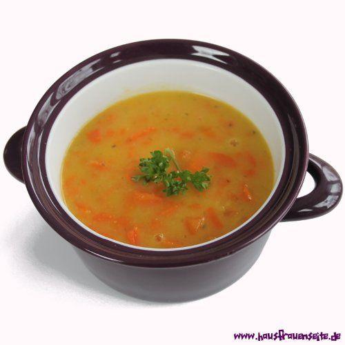 einfache Mohrrübensuppe diese einfache Mohrrübensuppe ist etwas für alle, die mit Mehlschwitze gebundene Möhrensuppen lieben vegetarisch schnell gekocht - preiswert