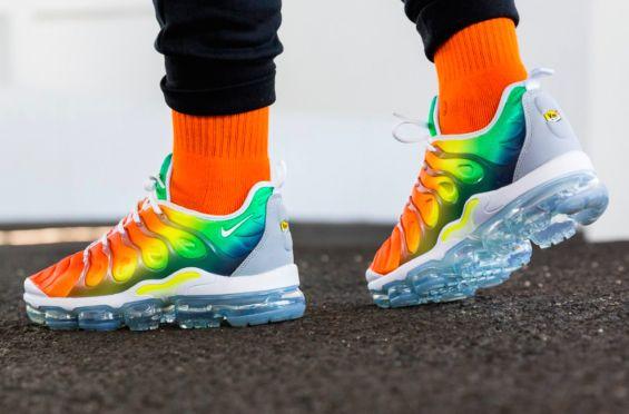 The Nike Air VaporMax Plus Rainbow Shines Next Week | Sneakers ...
