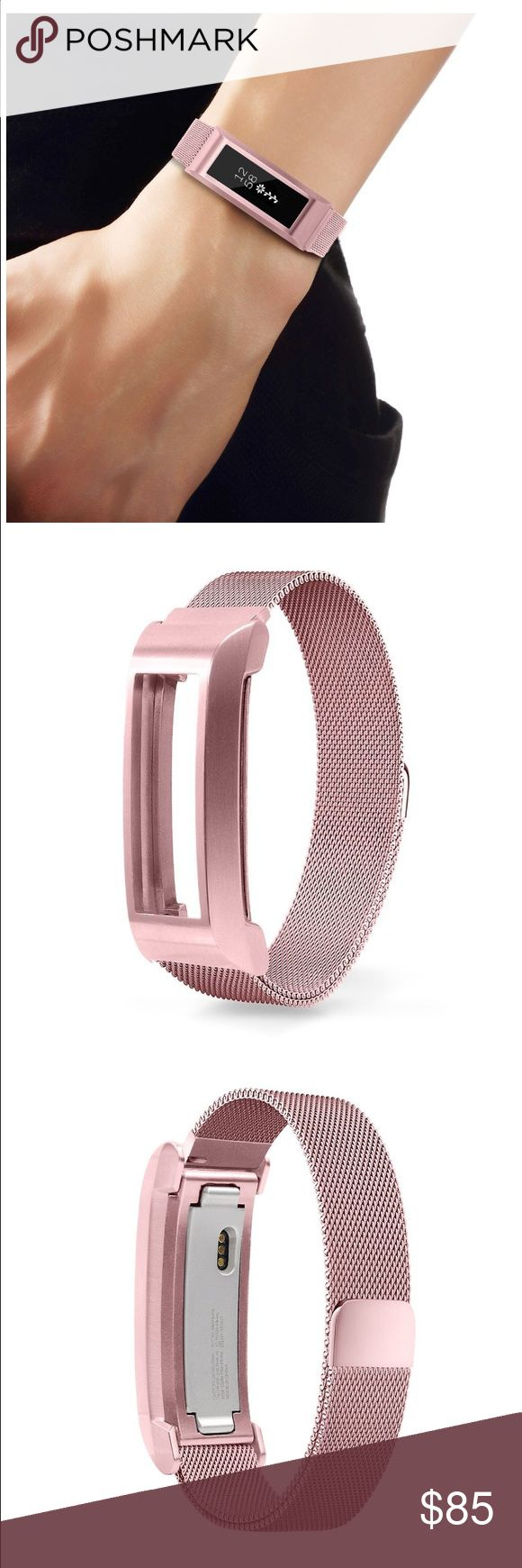 Fitbit Alta Pink Mesh Band. Fitbit Alta Pink Mesh Band. Magnetic closure clasp. Never used. Brand new in box! Accessories
