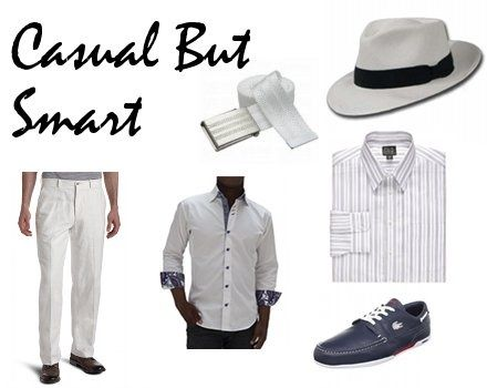 Men's Attire - Casual But Smart