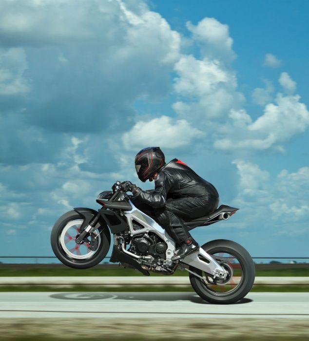 custom motorcycle idea, stripped/redone Aprilia Tuono