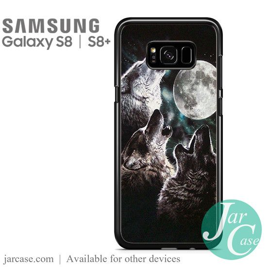 mountain's three wolf moon Phone Case for Samsung Galaxy S8 & S8 Plus