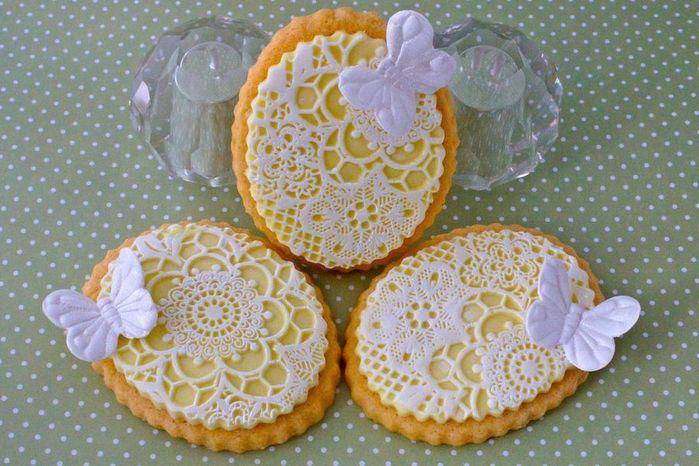 Пасхальное печенье с королевской глазурью – айсингом