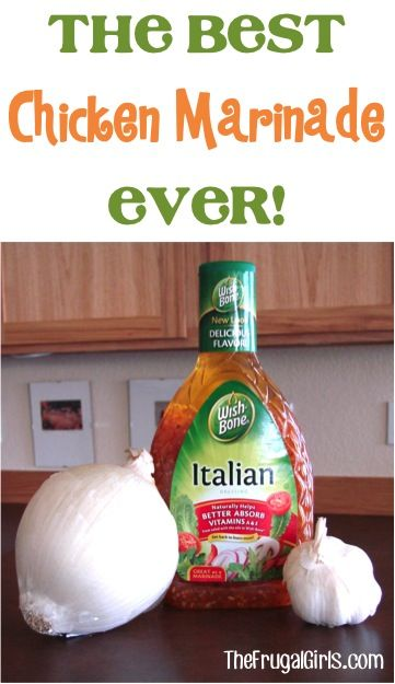 The Best Chicken Marinade Ever! ~ at TheFrugalGirls.com - when it comes to marinades, it doesn