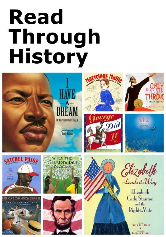 Read Through History: Picture books to help bring history to life for kids!