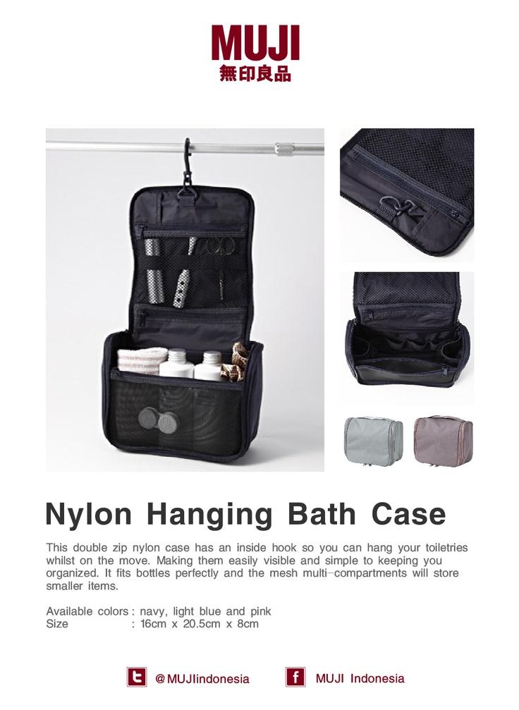 Nylon Hanging Bath Case