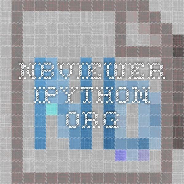 nbviewer.ipython.org