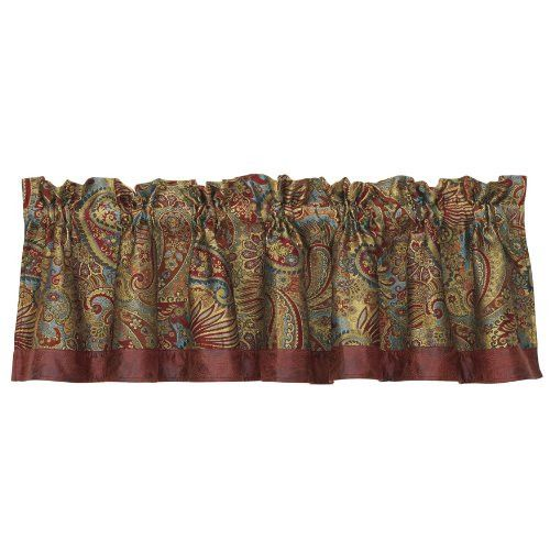 HiEnd Accents San Angelo Paisley Valance