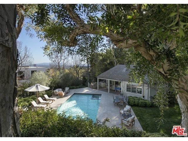 Inside Miranda Kerr and Snapchat CEO Evan Spiegel's Brentwood Mansion via @MyDomaine