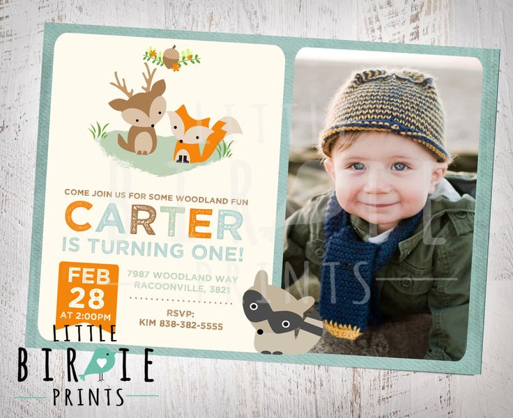 The 25 best First birthday invites boy ideas – First Birthday Party Invitations Boy
