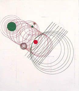 Movimento Ruptura, 1952 Óleo s/ madeira, 25,5 x 21,0 cm Coleção Família Cordeiro Waldemar Cordeiro (1925-1973)