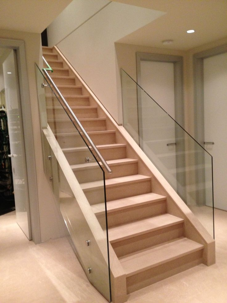 Best Frameless Glass Stair Railing Glass Stairs Glass 640 x 480
