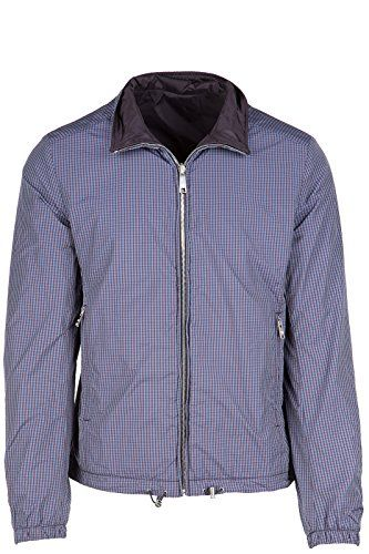 PRADA Prada Men'S Nylon Outerwear Jacket Blouson Reversible Purple. #prada #cloth #