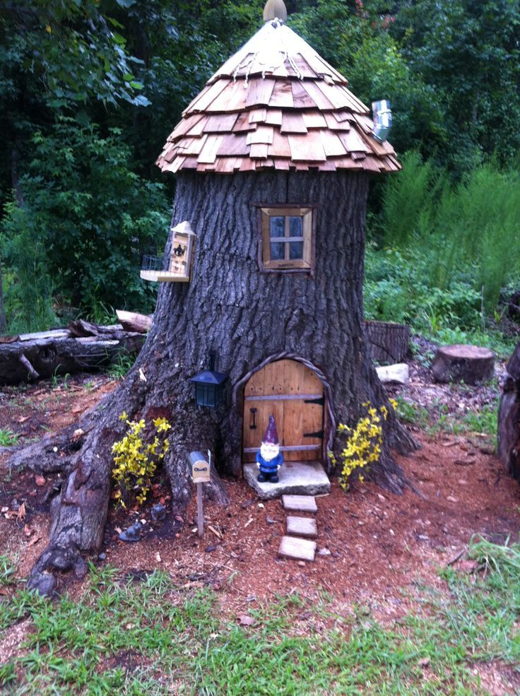 Fairy Houses for the Garden | Fairy/nome house by RDC