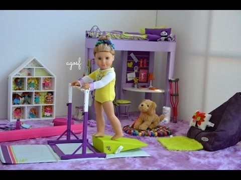 American Girl Doll Disney Frozen Elsa Hairstyle~ Inspired By Cutegirlshairstyles - YouTube