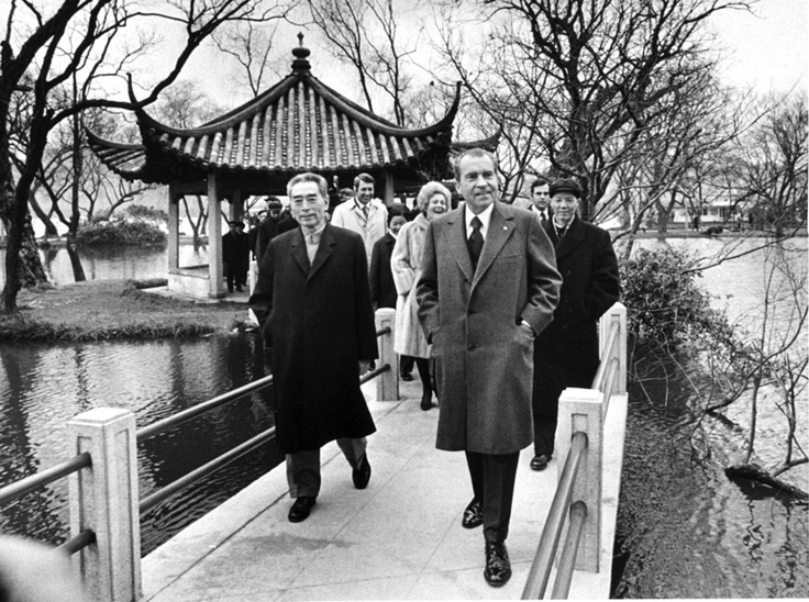 president nixon and americas relation with china President nixon follows chinese premier chou en-lai's lead, using  turning point in american-chinese relations, which had been frozen since.