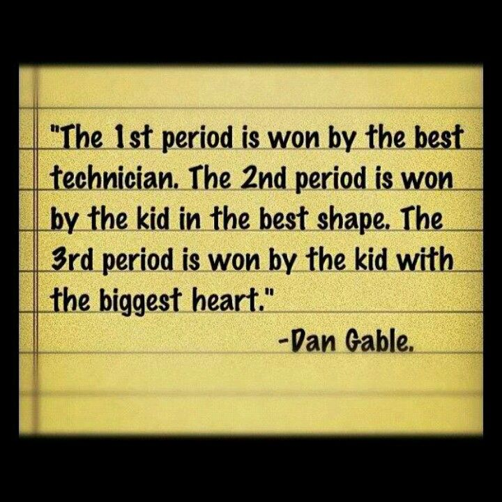 """dan gable my hero Gable with his mother and father iowapublicradioorg""""once you've wrestled,  everything else in life is easy""""- dan gable who is the man behind."""