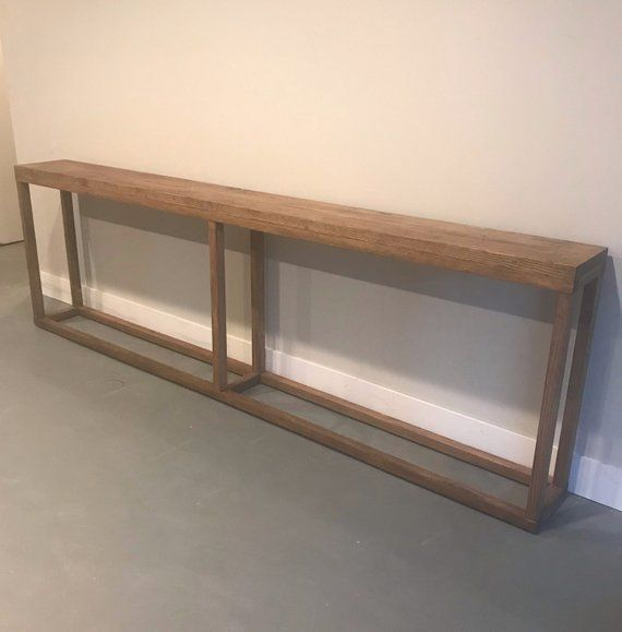 Finding That Perfect Console Table To Fit Your Space Can Seem Like An Impossible Task Theyre All Narrow Console Table Long Sofa Table Extra Long Console Table