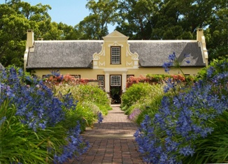 Dutch Colonial/Cape Dutch Architecture - Vergelegen