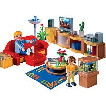 Playmobil Family Home Playset: Living Room
