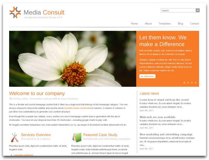 simple corporate website design clean simple corporate website ...