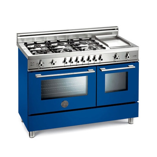 Gas Ranges >> Bertazzoni Gas Range in Cobalt | For the Home | Pinterest | Ranges, Spanish style and Kitchens