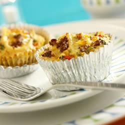 Jimmy Dean Hearty Sausage Mini Quiches Recipe on Yummly. @yummly #recipe