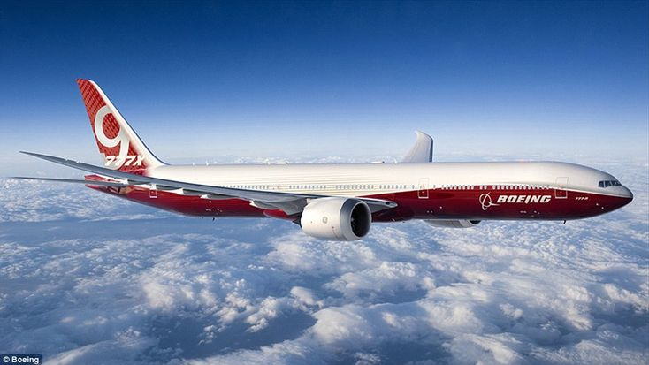 The 777-9X will seat at least 400 passengers with a superwide cabin with larger, higher windows when it begins production in 2017.