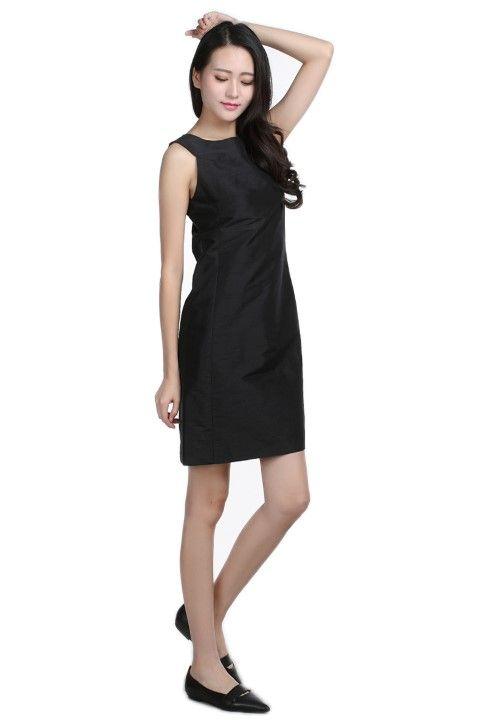Dress ELYSEE Black licorice - EmKha