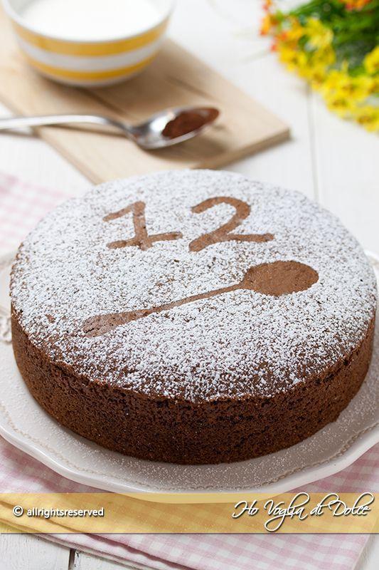 Torta 12 cucchiai al cacao | Ho Voglia di Dolce | Bloglovin'