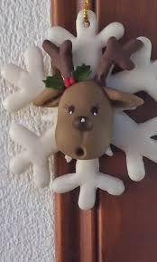 Resultado de imagen para adornos navideños en porcelana fria