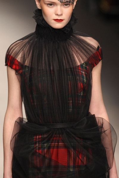 Corrie Nielsen at London Fashion Week Fall 2012 - Details Runway Photos