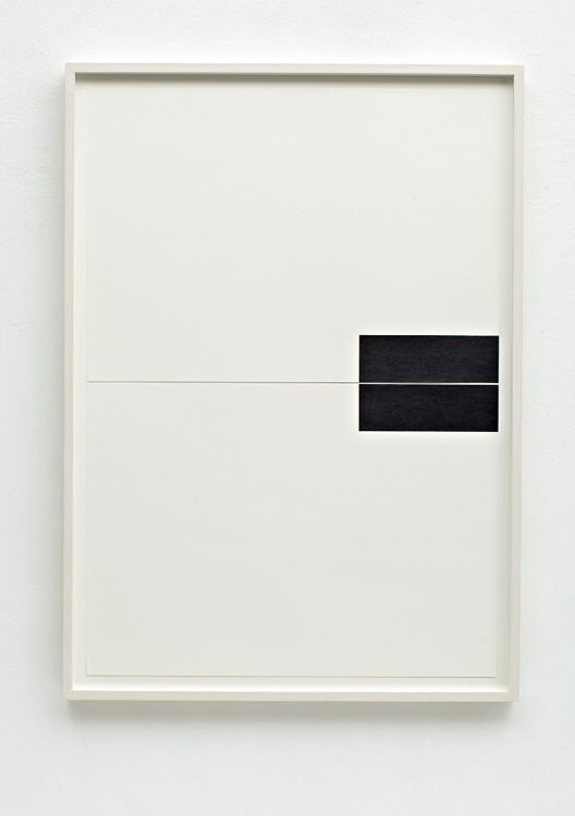 Frank Gerritz . 2013 {{i love how minimalism challenges you and how to think about artworks and really makes you think and figure out what is going on, even though it might not mean anything within the work (gab) }}