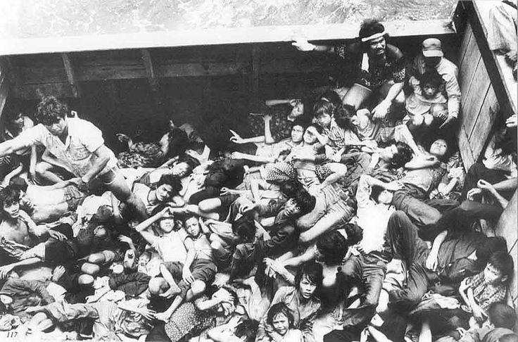 https://flic.kr/p/r5L61D | Vietnamese Boat People - Thuyền nhân VN | source: Vietnamese Boat People Monument – Westminster, California lost-at-sea-memorials.com/?p=1006