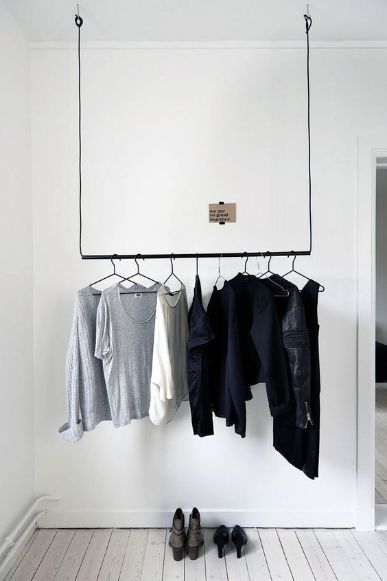 3 Creative Closet Ideas for Bedrooms Without Them | Freshome | Bloglovin'
