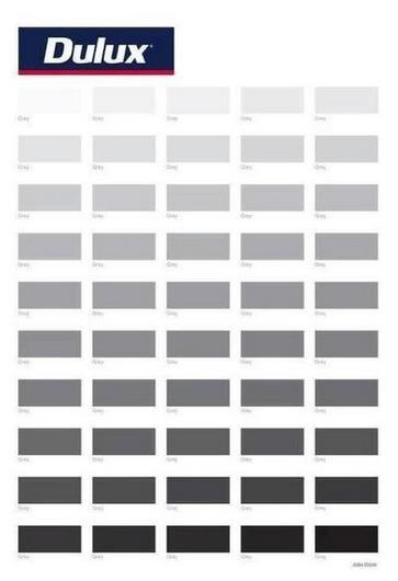Dulux: 50 Shades of grey.