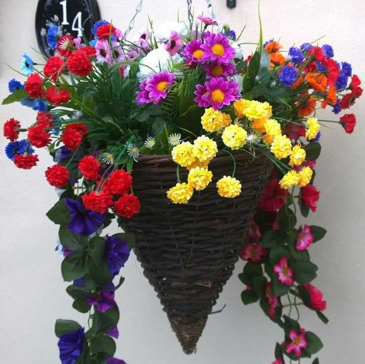 25 Best Ideas About Artificial Hanging Baskets On